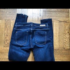 Zara jeans cropped size 6